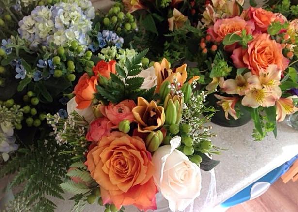 A Fresh Flower Arrangement Just For You