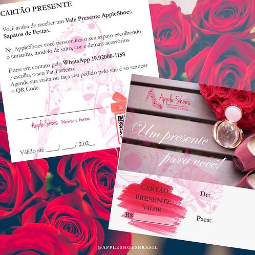 Cartão Presente R$380,00