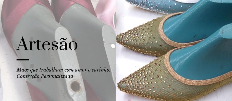 Ateliê confecciona Sapatos Exclusivos para mulheres que relatam dificuldade para achar sapatos