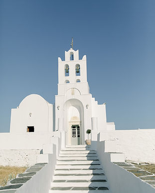 A Hollywood-like wedding on the island of Sifnos