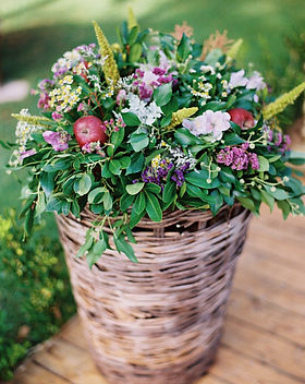 A rustic baptism for baby girl Stella