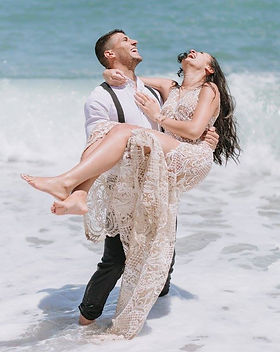 A romantic, sea side wedding on the island of Crete