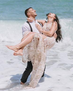 A romantic seaside wedding on the island of Crete