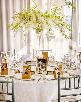 A luxurious baptism and 1st birthday party