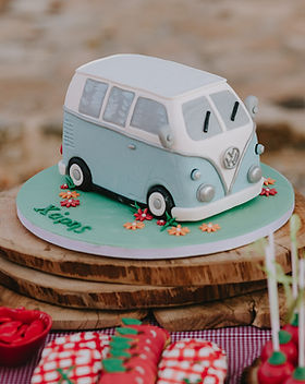 A picnic themed baptism and 2nd birthday party