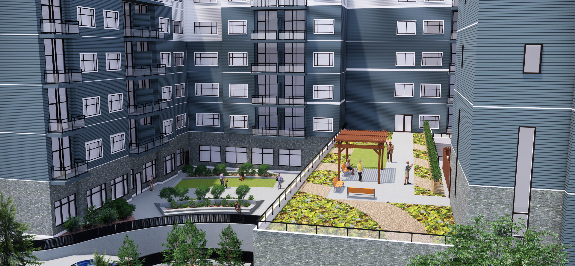 Chartwell Retirement Residents Rendering