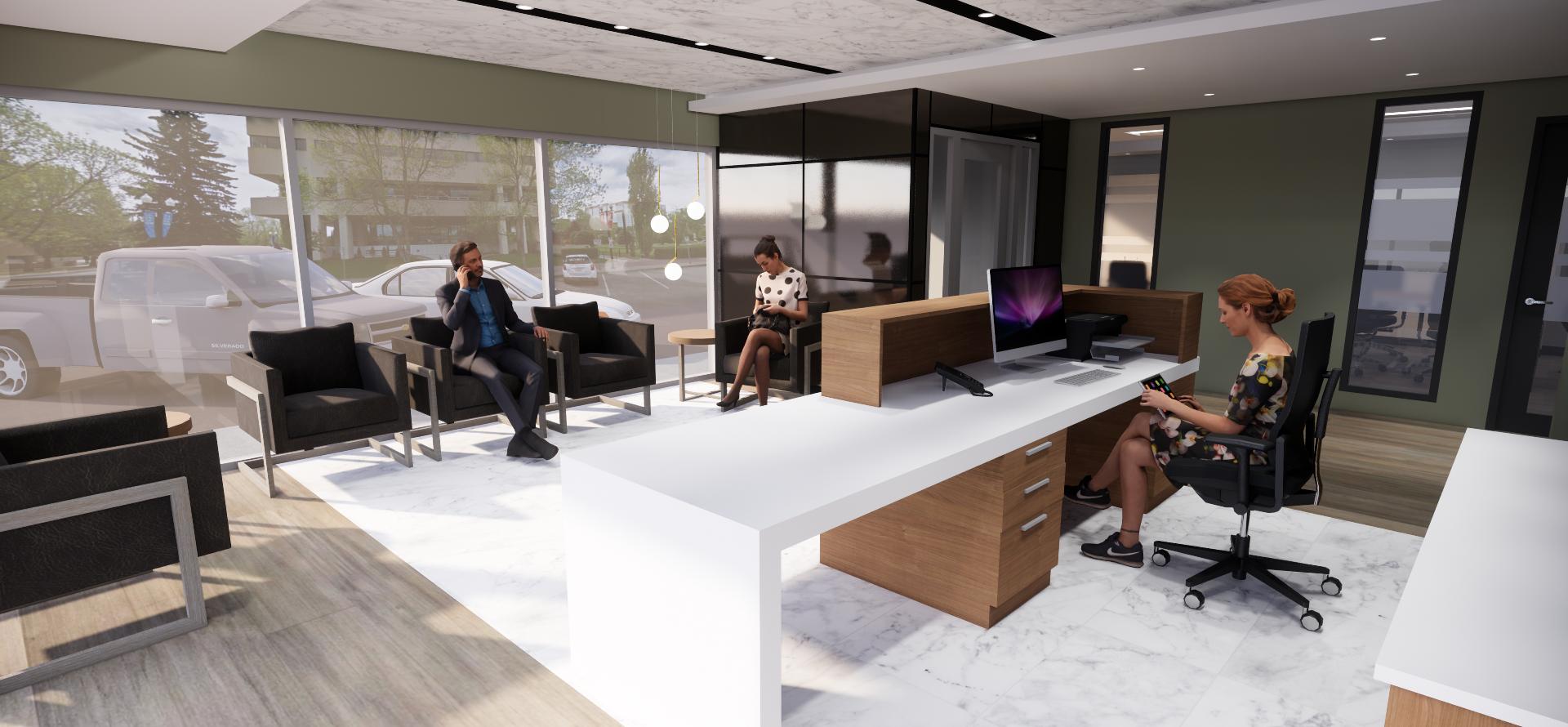 Office Concept Rendering