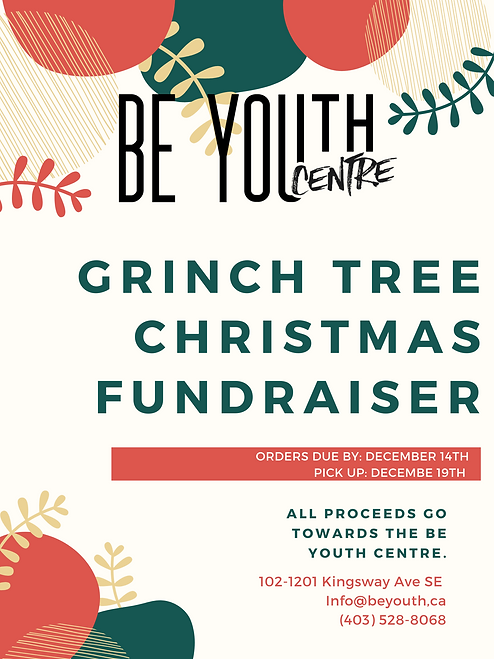 all proceeds go towards the be youth cen