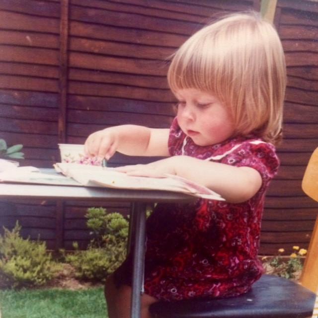 Abigail Willis starting out as an artist