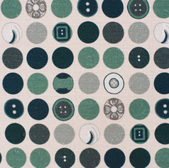 Dotty Harmony in Teal fabric