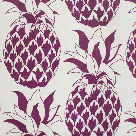 Pinapple wallpaper in Grape