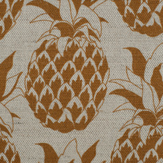 Pineapple Golden Mist fabric Swatch.