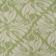 Calla Lily Apple fabric Swatch