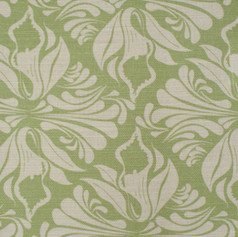 Calla Lily Apple fabric Swatch