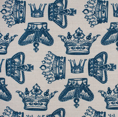 Regal Beauty Oxford Blue fabric