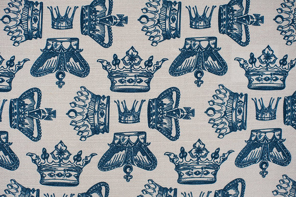 Regal Beauty Oxford Blue fabric sample
