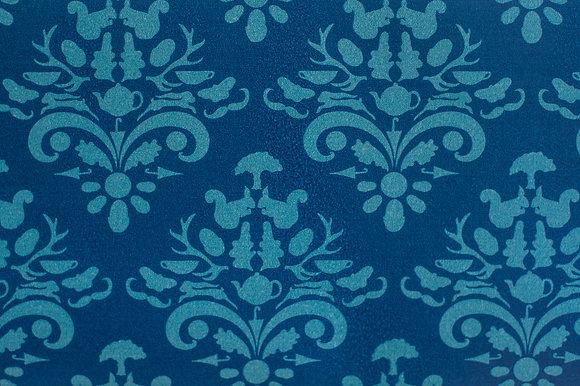 Indigo wallpaper sample
