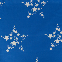 Star Bright Bonny Blue fabric swatch by