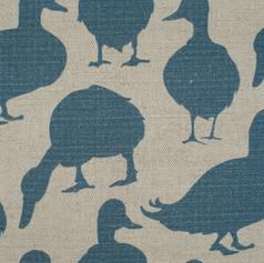 Duck Summer Sky Fabric Swatch