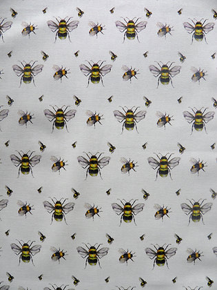 Bee Apron  by Willis Bloom. Cotton apron, designed, printed and made in the UK.