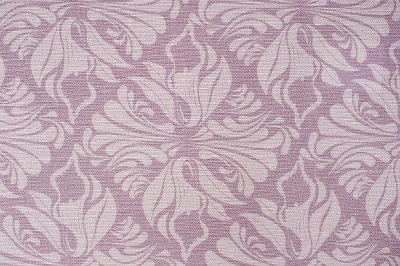 Calla Lily Lavender fabric sample