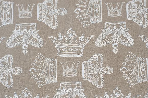 Regal Beauty Cool Caramel wallpaper sample