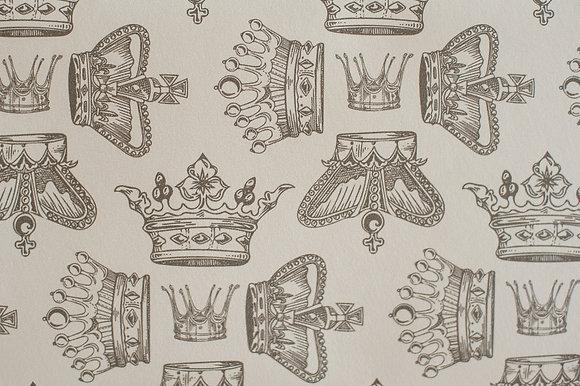 Regal Beauty Warm Graphite wallpaper sample