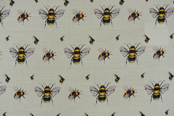 Bee Real fabric sample