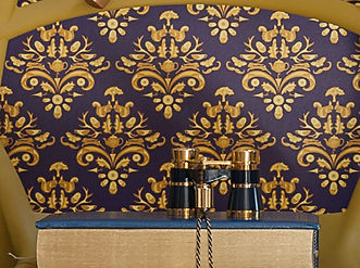 hvb Wilis Bloom How Very British wallpaper in midnight Crest. Bold design with deep bue, purple and gold. crop.jpg