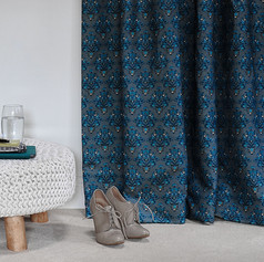 How Very British fabric in Stately Teal.