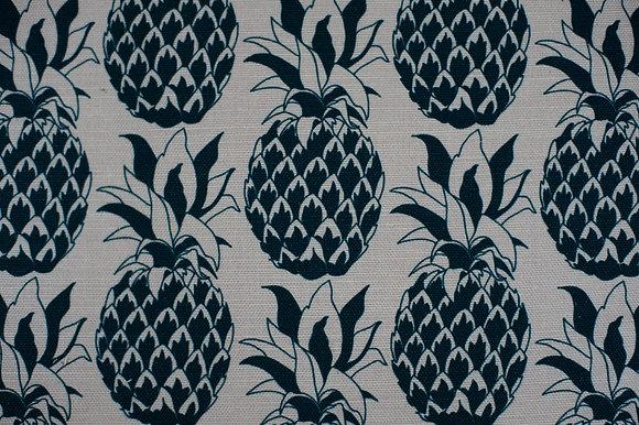 Pineapple Slate Blue fabric sample