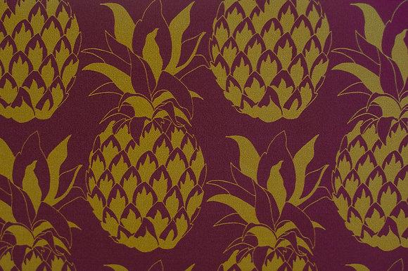Pineapple Garnet wallpaper sample