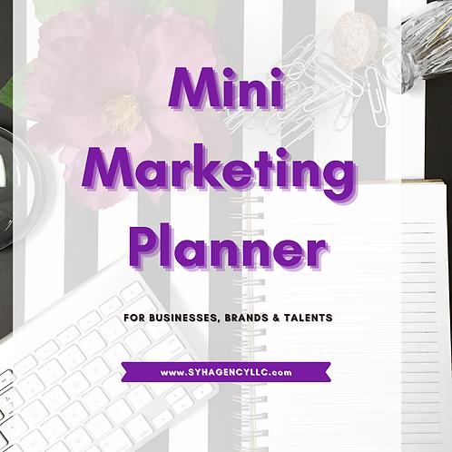 SYH Mini Marketing Planner