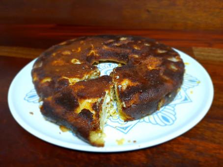 Baked Caramel Apple Tart