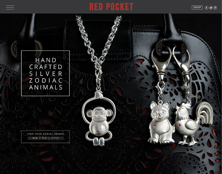Charles Bongers + Co | RED POCKET WEB SITE HOME PAGE