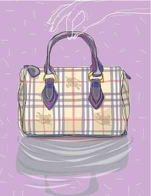 Charles Bongers + Co Burberry bag .pn