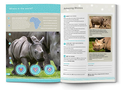 Charles Bongers + Co | COACHING COSERVATION RHINO SPREAD