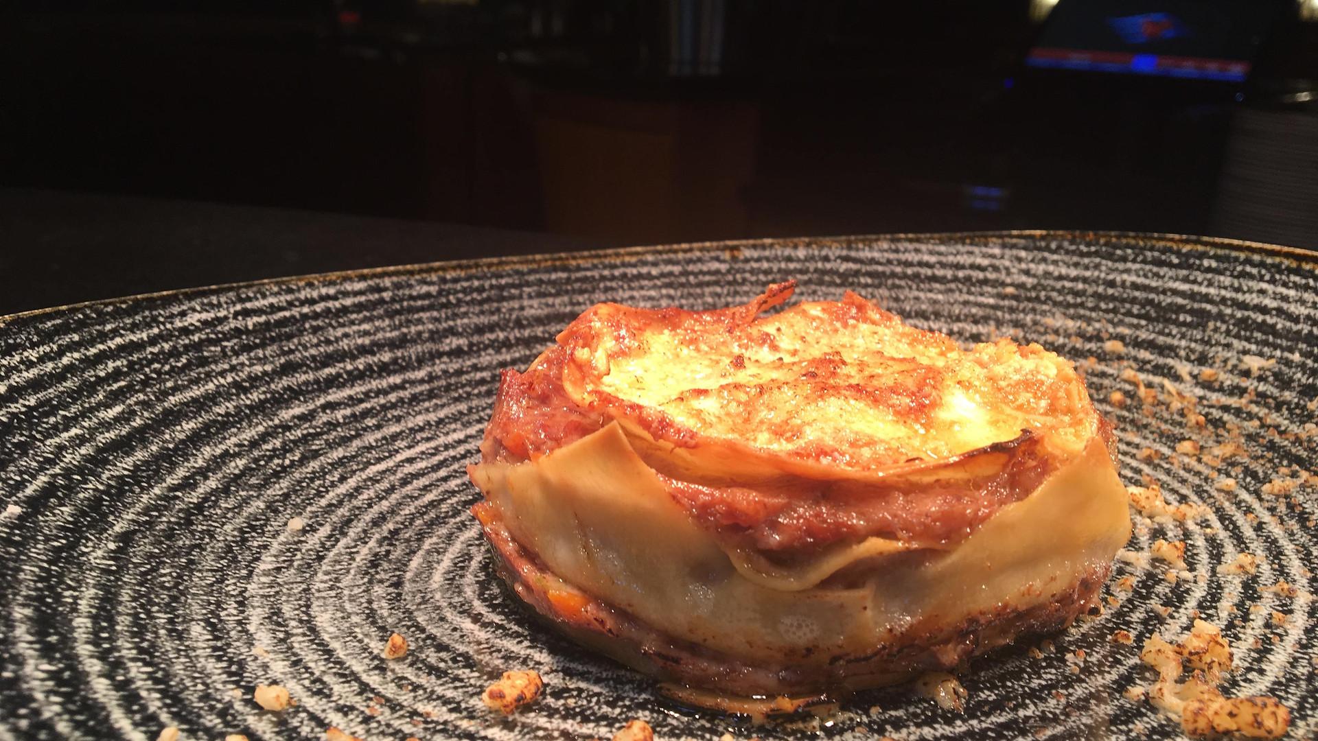 Veal brased Lasagna