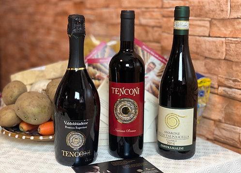 Three Bottles of Wine, Europe