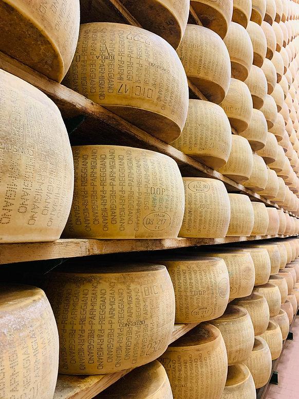 Parmigiano Regiano cheese  , chef Anthony
