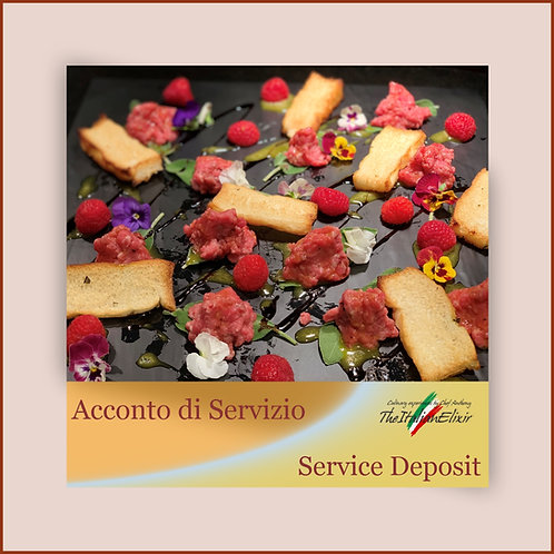 Service Deposit