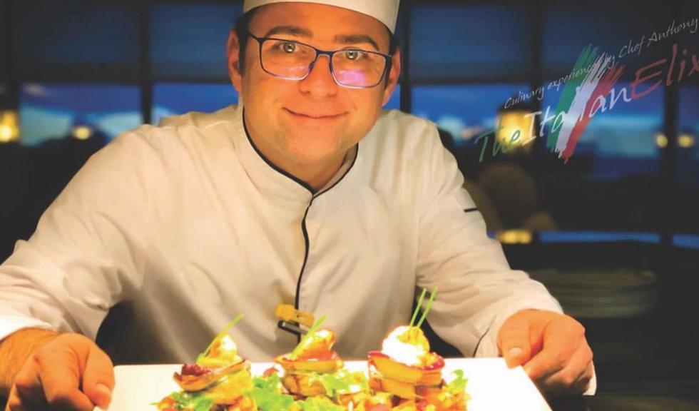Portfoglio presentation Chef Enton Qesari