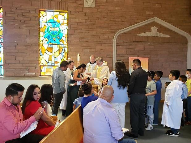 Baptism of Alejandro