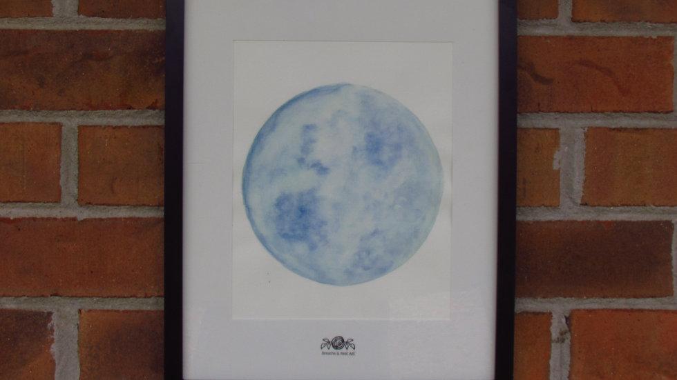 """""""Blue Moon of Kentucky"""" Print"""