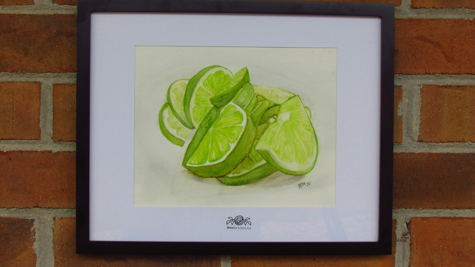 """""""The Beauty of Limes"""" Print"""