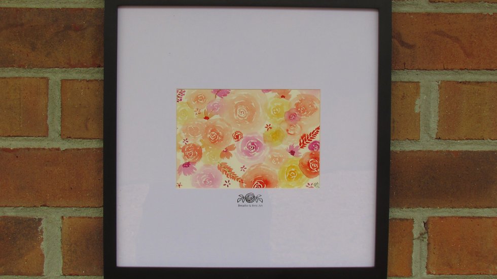 """""""Rose Party"""" Print"""