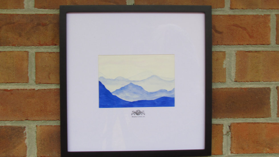 """""""The Mountains Are Calling"""" Print"""