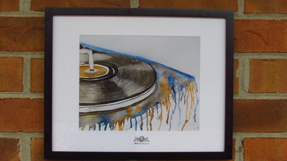 """""""Music Speaks"""" Print"""