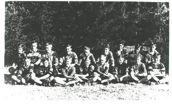 Queenstown High School 1947 Football team