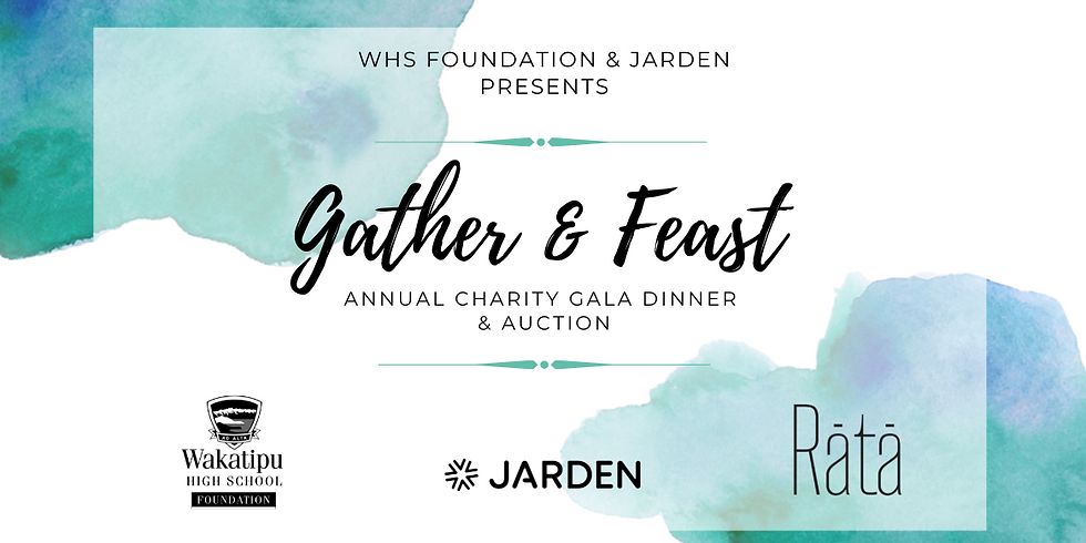 Gather & Feast - Annual Charity Gala Dinner and Auction